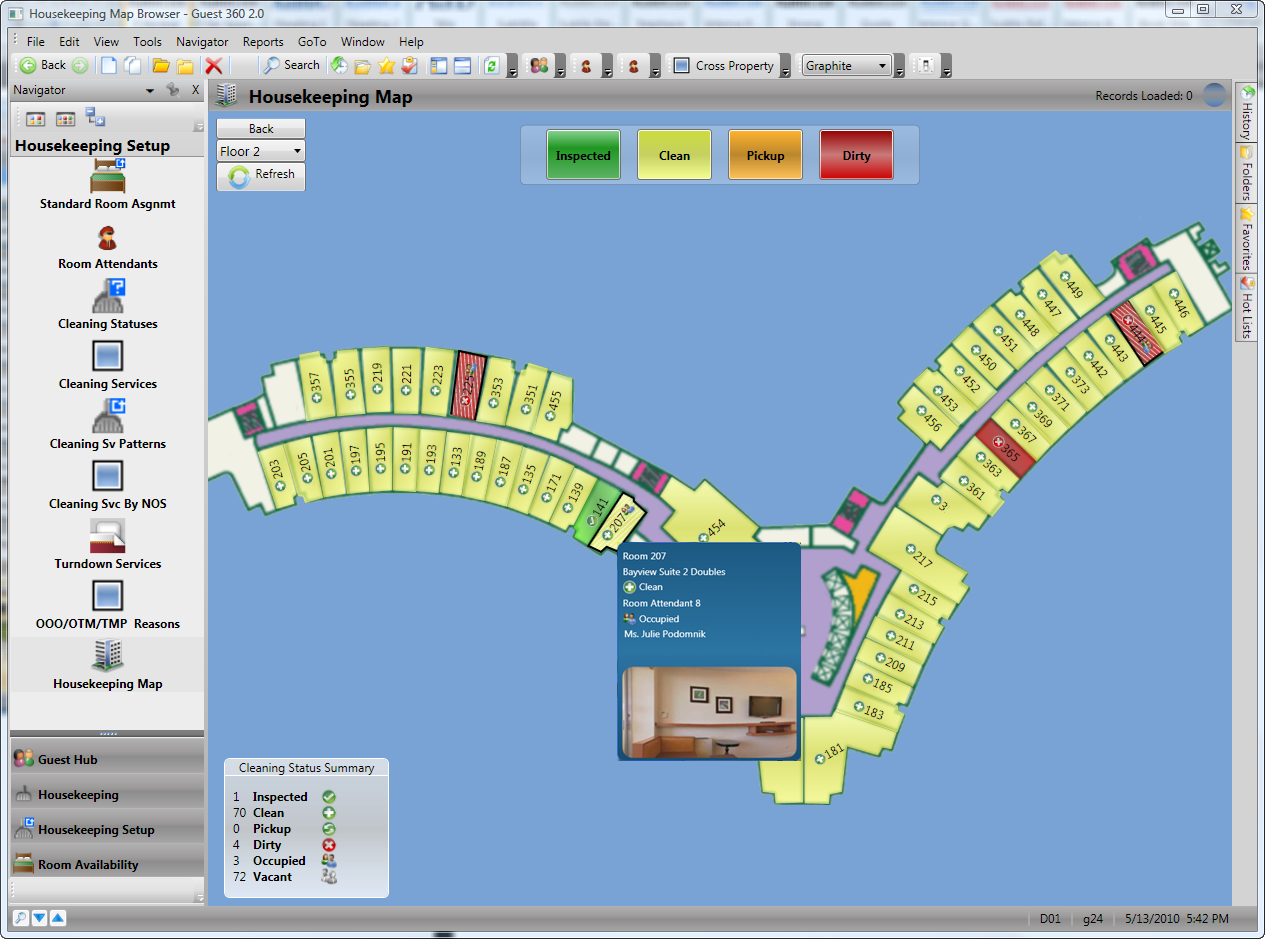 Surround technologies accelerates cloud computing for for Interactive floor plan map