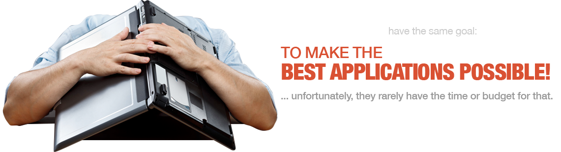 Developers are buried and software stays in development when it should be helping move the company forward.